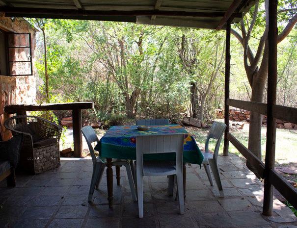 David's Cottage - patio